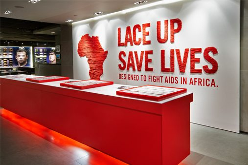 Prop Studios designed, produced and installed all elements including sculptural installations, in-store graphics, outdoor signage and lighting