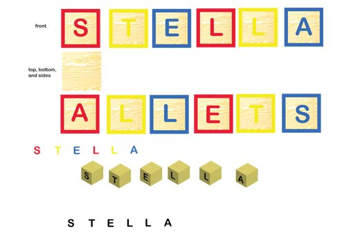 Prop Studios were aware of Stella McCartney's interest in protecting the environment and used sustainable materials