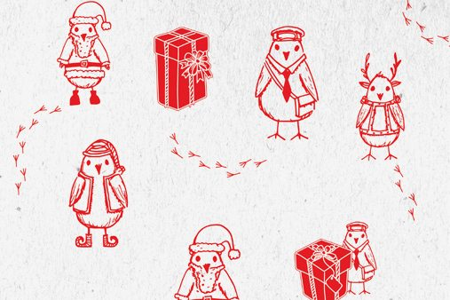 Bespoke gift wrap designed for Hyundai by Prop Studios