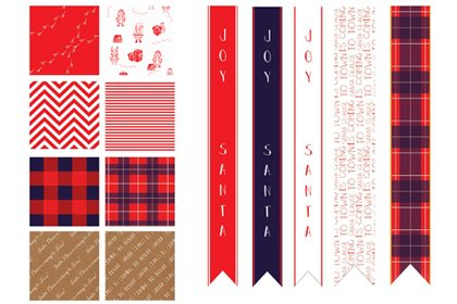 Prop Studios designed bespoke gift tags and ribbons for the festive instore design scheme for Hyundai department store
