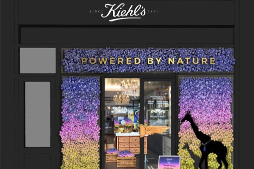 Prop Studios rendering of the award-winning retail design concept for Kiehl's
