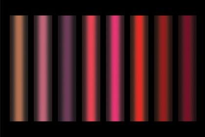 Light scheme of NARS window display