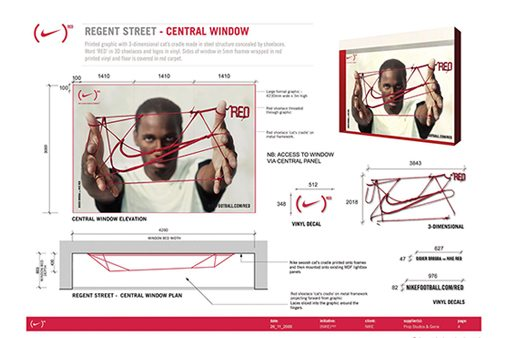 Part of Prop Studios' original design pack for the award-winning Red campaign, created exclusively for Nike