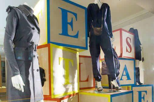 Close-up image depicting Prop Studios' mannequins, designed exclusively for Stella McCartney