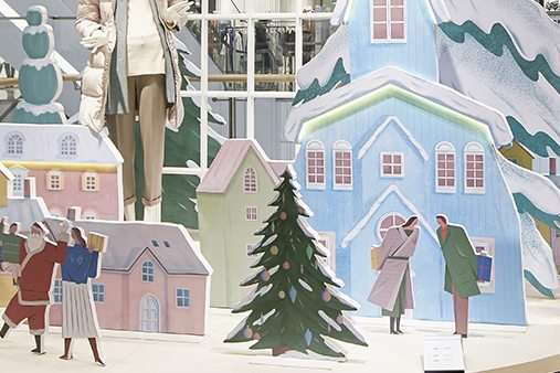 Prop Studios provided hand sketched concepts to visualise how Hyundai could portray their emotional festive stories in 3D