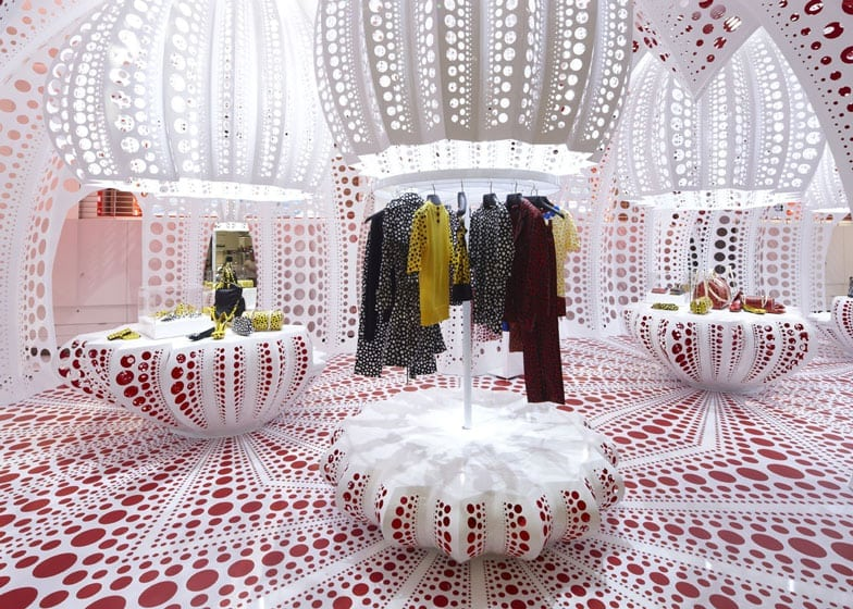 Yayoi Kusama Louis Vuitton Brand Collaboration Pop Up