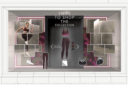 Adidas Window Design | Design Concept 16 | Prop Studios