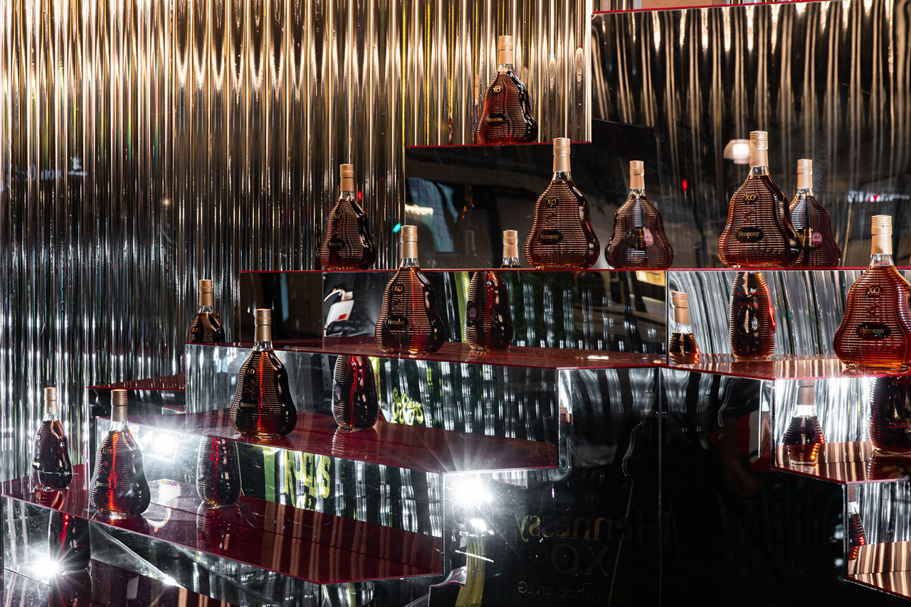 Prop Studios | Drink Brand Window Display Design | Hennessy Selfridges Window Drink Brand Activations