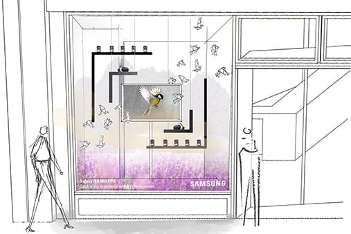 Samsung | Galaxy S9 Launch | Concept Design 3 | Prop Studios