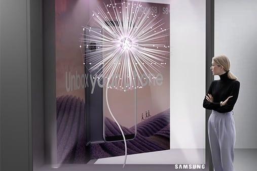 Samsung | Galaxy S9 Launch | Concept Design 2 | Prop Studios
