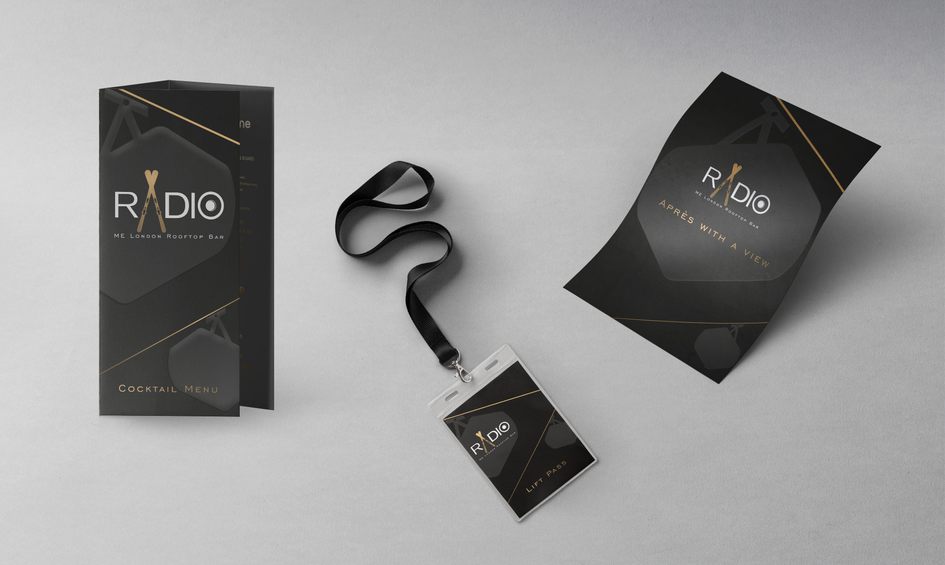 Radio ME London Interior Design Retail branding