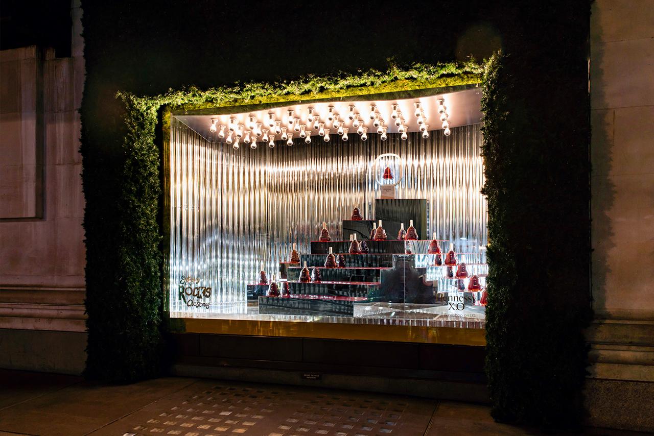 Hennessy | Selfridges Window Displays 9 | Prop Studios