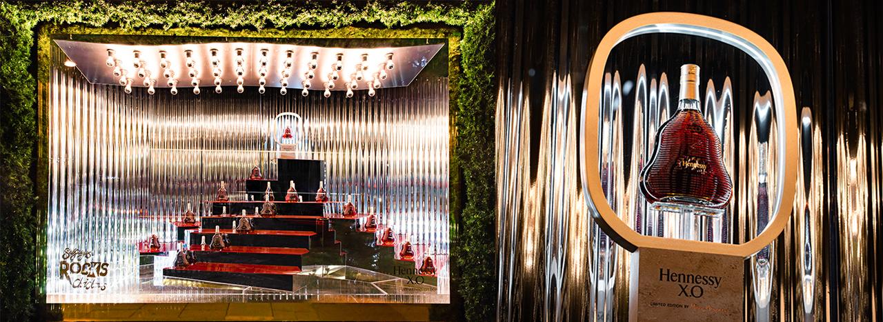 Hennessy | Selfridges Window Displays 7 | Prop Studios