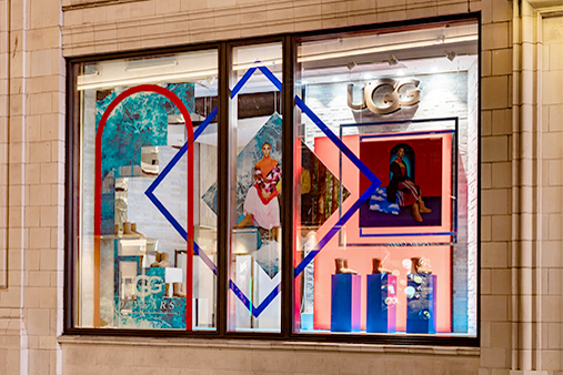 UGG 40th Anniversary Campaign | Selfridges Windows Display | Prop Studios