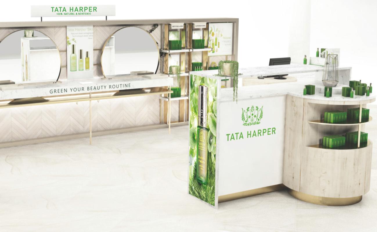Tata Harper Interior Design Retail branding