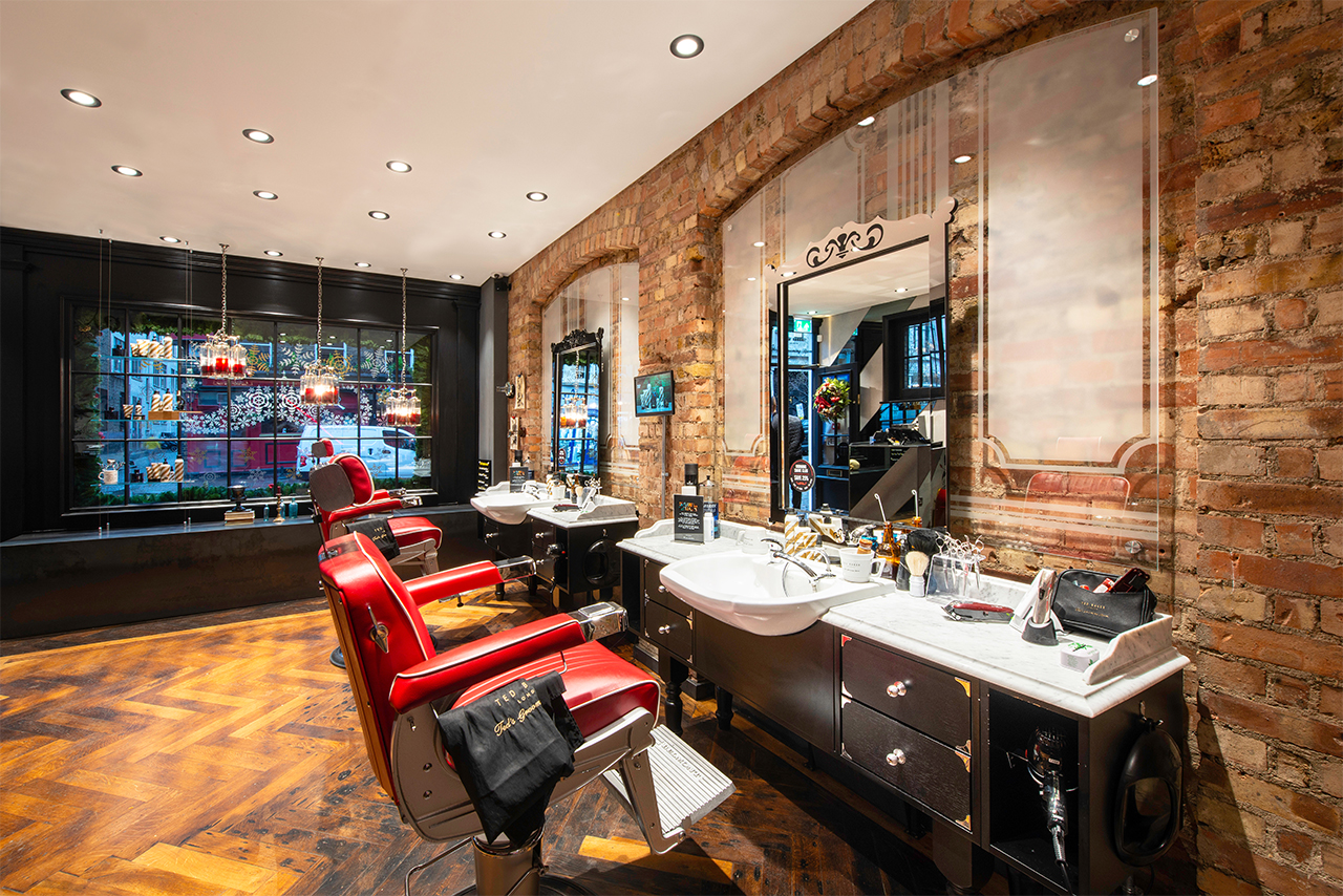 Ted Baker Grooming room interior design