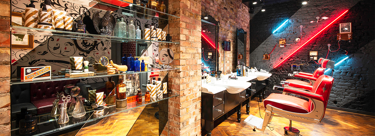 Teds Grooming Room Store Design | FormRoom 2
