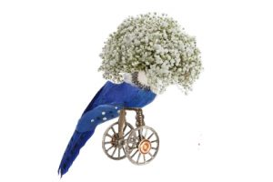 Image showing one of the quirky bird sculptures created by Prop Studios for Ted Baker