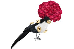 Prop Studios created these bird installations to match the Ted Baker brand's sense of humour