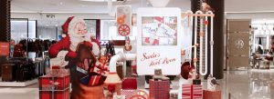 Hyundai's brief for Prop Studios' visual merchandising scheme was create the warmth of a traditional Christmas with a hint of children's mischievous humour