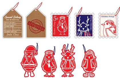 Prop Studios' design for bespoke gift wrap, gift tags, ribbons and boxes for Hyundai