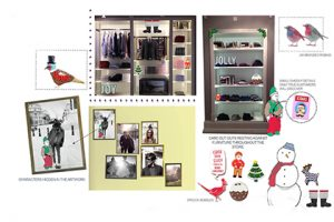 We worked closely with Jack Wills to visualise concepts to surprise and delight Jack Wills customers, without being an obvious Christmas scheme