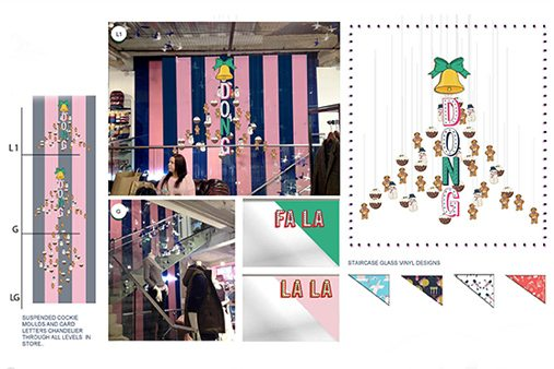 Further instore design concepts, and the images of finished product, created exclusively for Jack Wills by Prop Studios