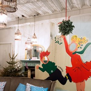 Prop Studios created these Christmas installations exclusively for the Jack Wills store