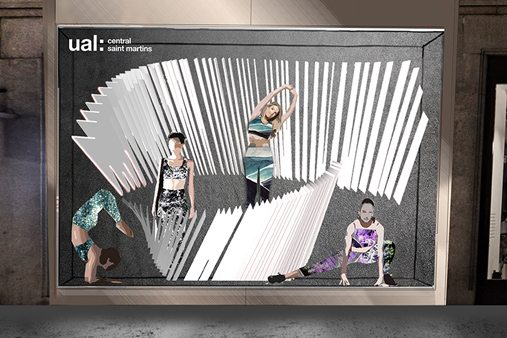 Prop Studios' designers set about capturing the inherent energy, power and movement of the Lululemon product