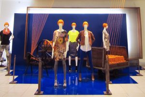 Prop Studios' visual merchandising campaign for Mary Portas was designed to celebrate British manufacturing