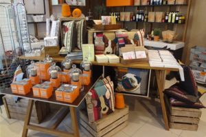 Close-up image of the products available within the Mary Portas store