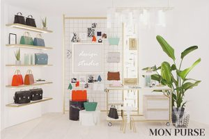 Tying in with Selfridges' 'Our House' campaign, Prop Studios designed a scheme to transport customers inside the creative and luxurious world of Mon Purse