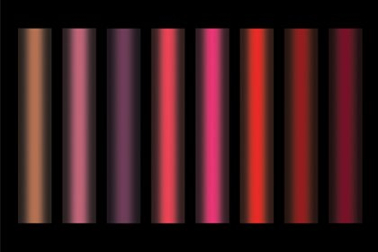 Light scheme of NARS window display