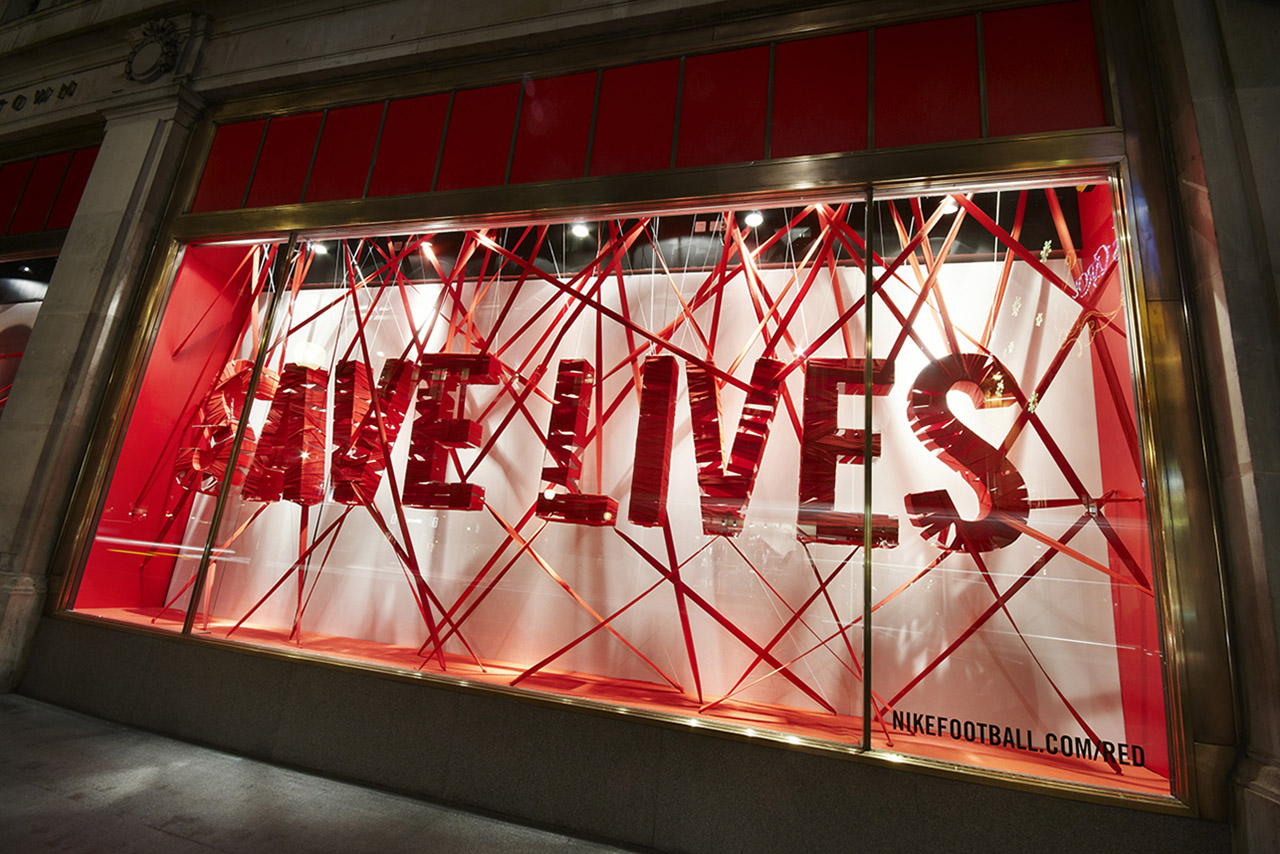 5c901d907001aa Prop Studios  award-winning Red retail design campaign was created in  partnership with our