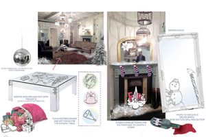Prop Studios based the instore designs for Jack Wills on initial sketches and 3D computer renders