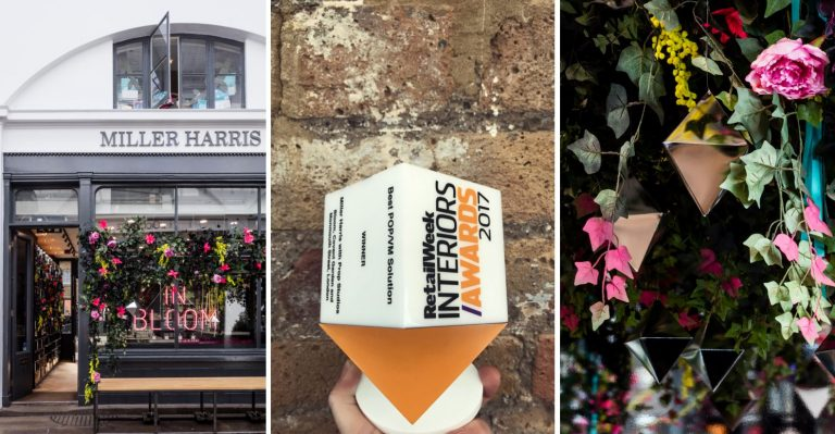 Prop Studios Wins Retail Week Interiors Award For Miller Harris In Bloom