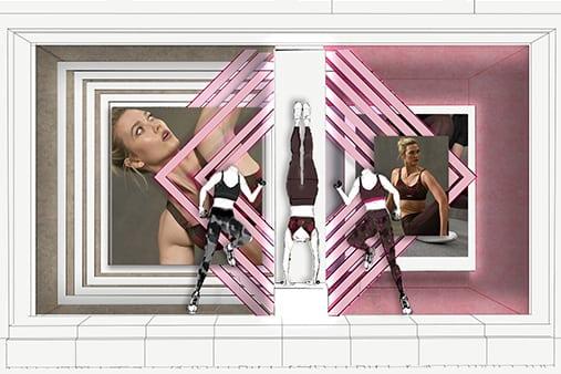 Adidas Window Design | Design Concept 14 | Prop Studios
