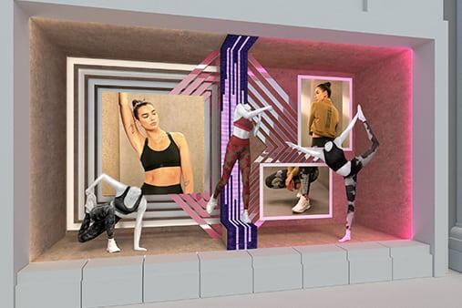 Adidas Window Design | Design Concept 11 | Prop Studios