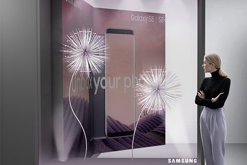 Samsung | Galaxy S9 Launch | Concept Design 1 | Prop Studios