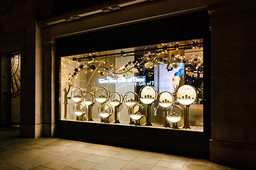 Watches Of Switzerland | Window Display | Store Interior Design 4 | Prop Studios London